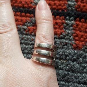 Vintage 925 sterling fork ring